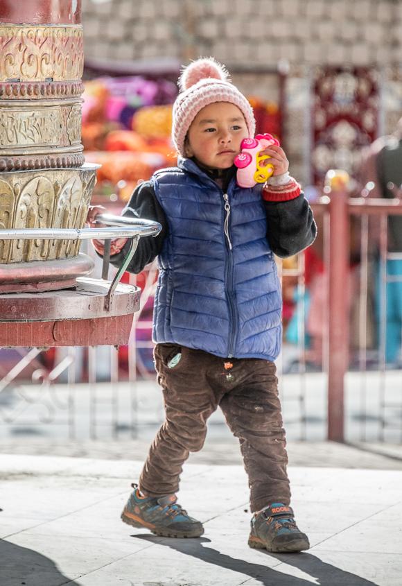 Prayer Wheel Ladakh