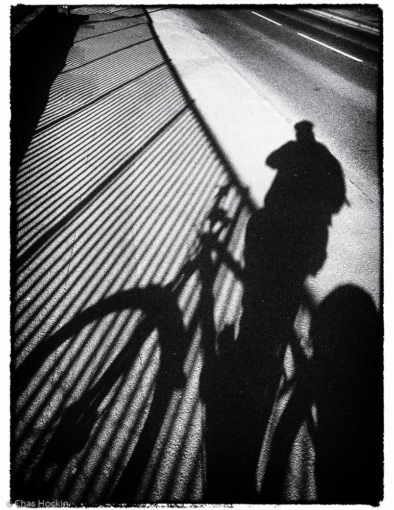 Shadow Selfie Chas Hockin LRPS