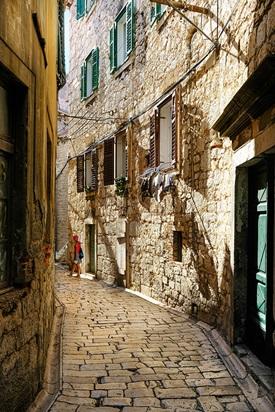Croatian Alleyway