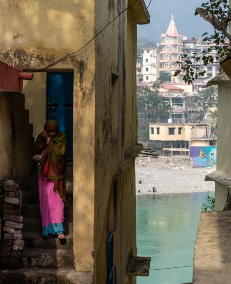 Riverside Dwelling, Rishikesh DAVID POLLARD ARPS