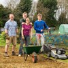 Family Time At The Allotments