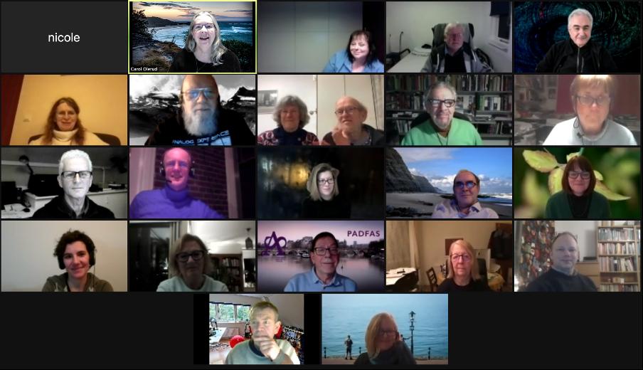 2021 Zoom Meeting Photo
