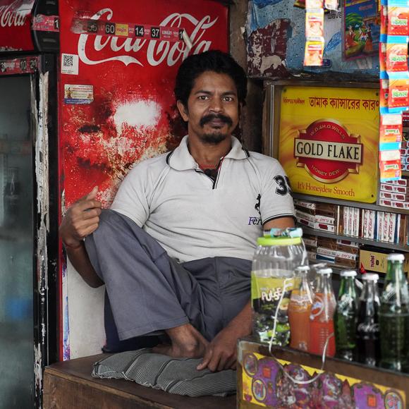 Calcutta Kiosk By Steve Jones