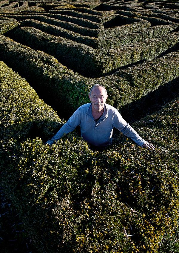 Marcel In His Maze
