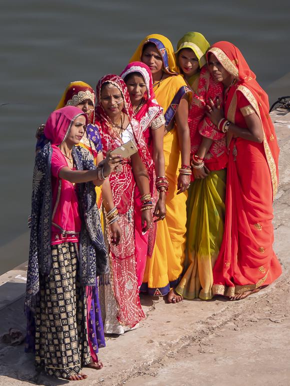 Sightseers, Pushkar, Rajasthan, Republic Of India By Thomas Andy Branson (580×773PX 72DPI)