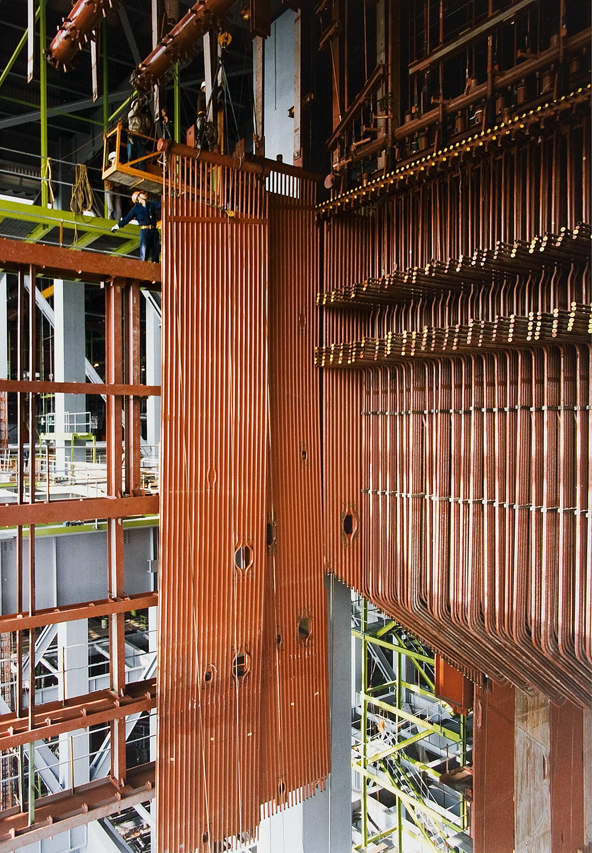 Boiler Erection, Castle Peak Power Station, Hong Kong