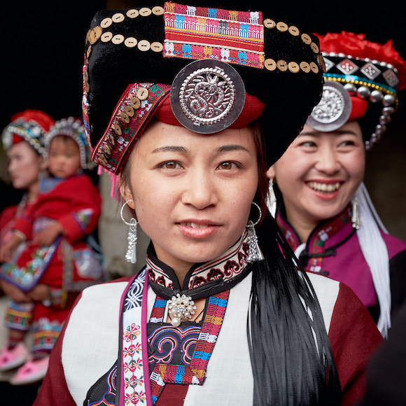 Axi Women, Yunnan