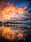 Heavenly skies over Sarasota Florida by Jeffrey Lynch ARPS (USA)