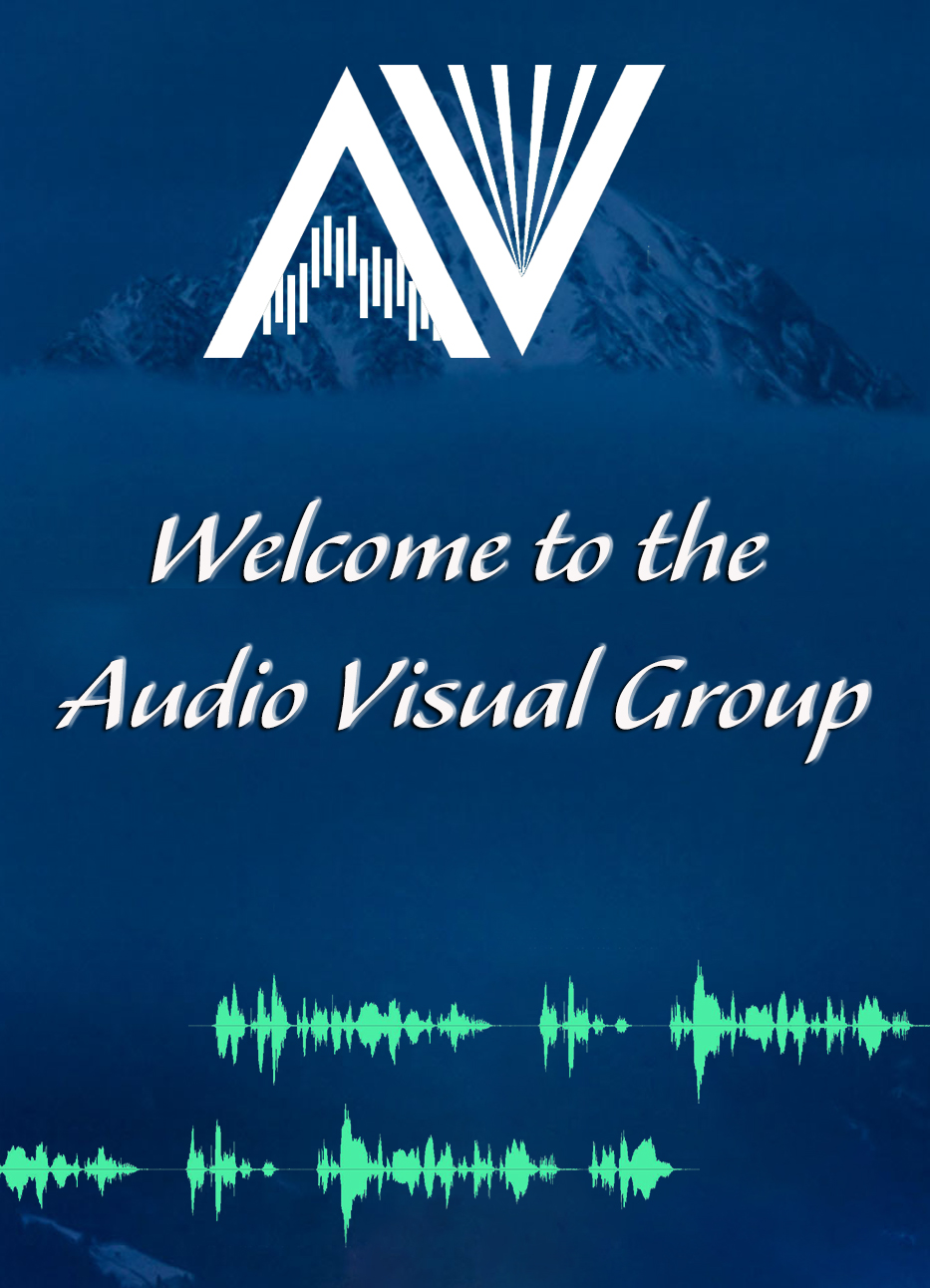 Welcome To AV Group With White Logo