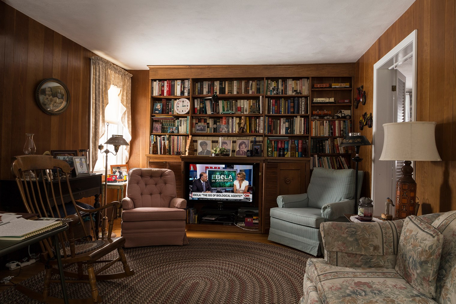Grandma's TV Room, October 2014