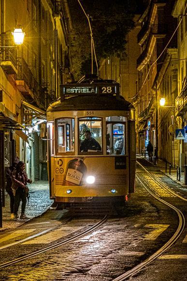 Lisbon Night Tram