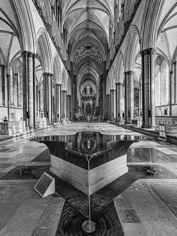 Salisbury Cathedral Under Lockdown