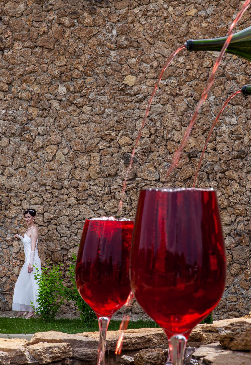 Wedding wine Neil Harris