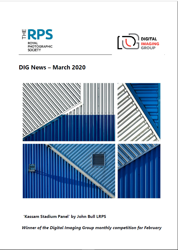 Cover Page DIG News March 2020