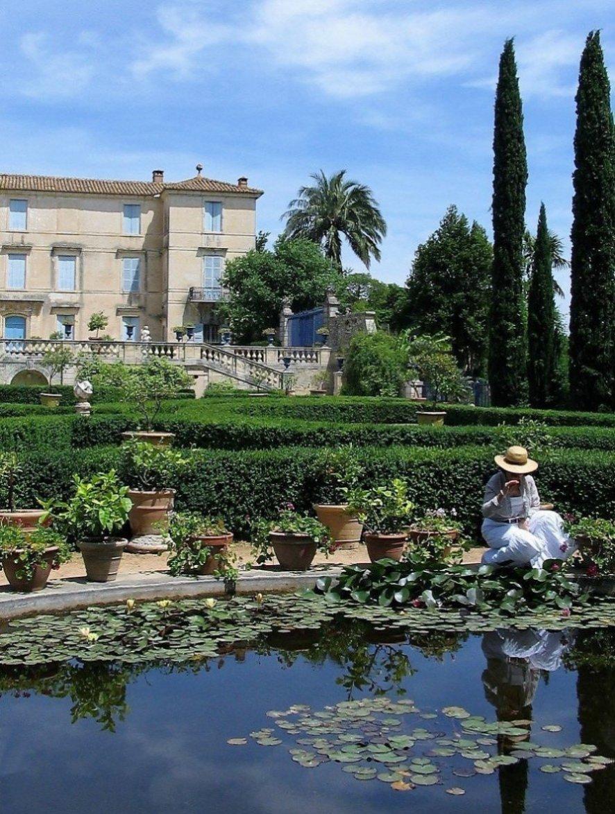 Chateau De Flaugergues By Sandra Mason (France)