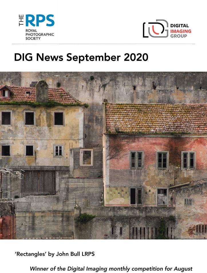 DIG News September 2020 Cover