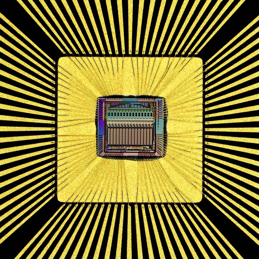 Norm Barker Computer Chip