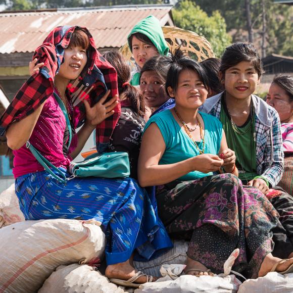 Off To Market, Burma
