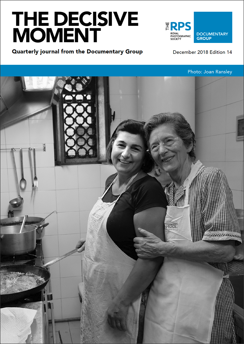 The Decisive Moment cover December 2018 Edition 14; 87570 - The Cooks Osteria Ermes Modena