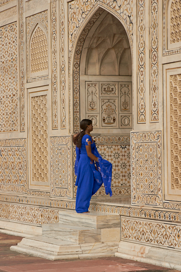 Colourful Entrance. Tomb Of Itmad Ud Daula, Agra, India
