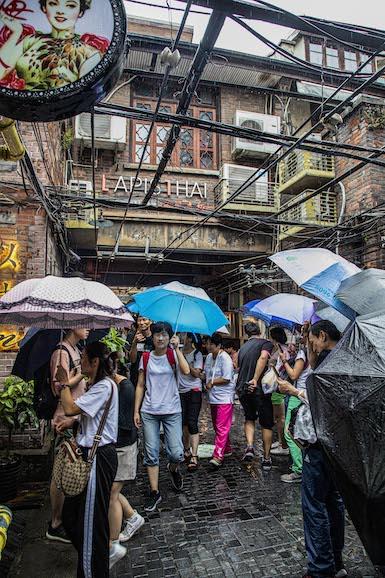 Shanghai Umbrellas