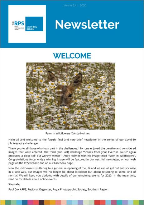 Southern Region Newsletter Summer 2020 V4