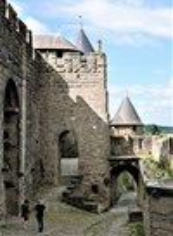 Sandra Mason Early Morning Carcassonne