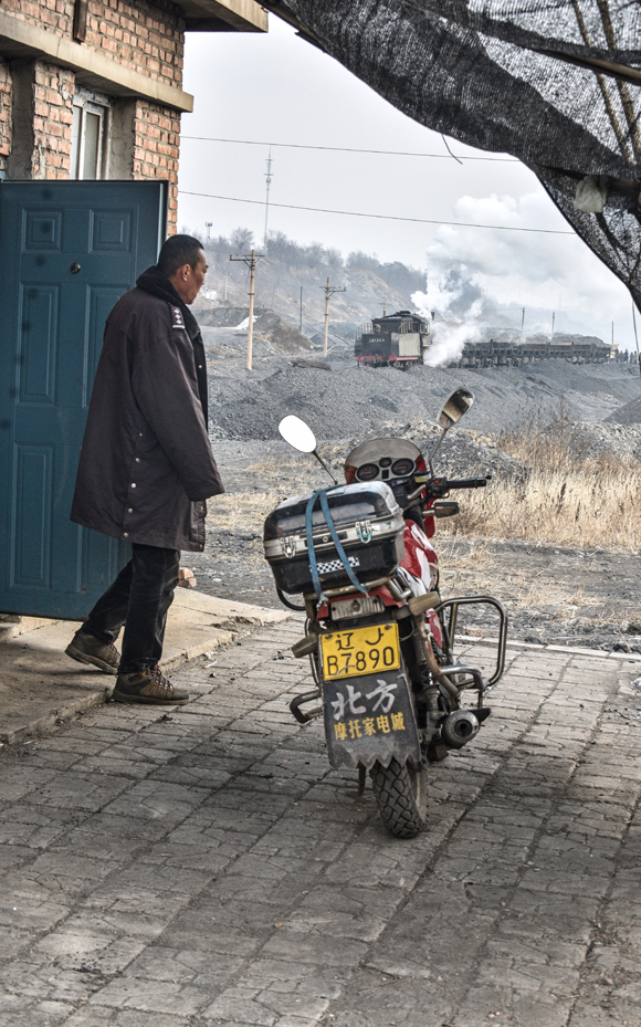 4 Motorbike Man Fuxin China