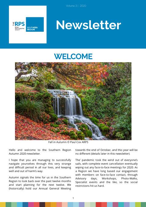 Southern Region Newsletter Summer 2020 V5