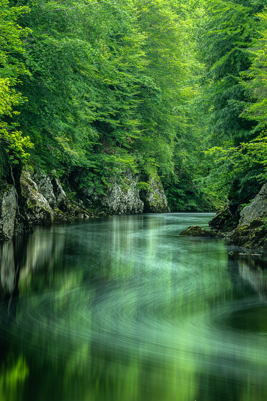 Garry River At Killiecrankie By Tim Pearson