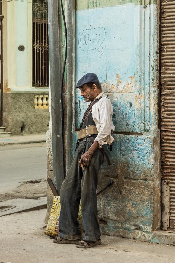 Cuban Worker. Havana. 2017