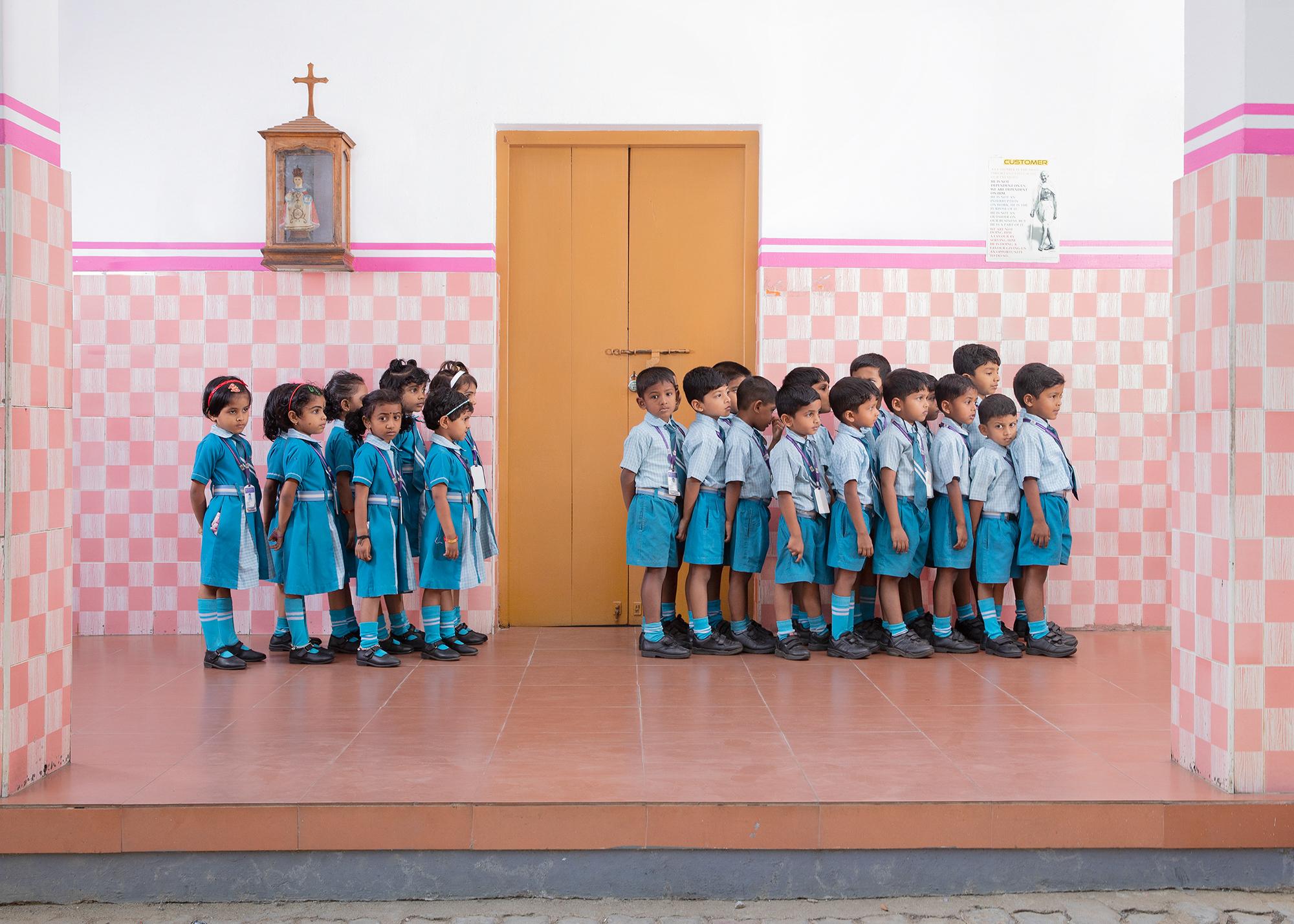 Renaud-Eck_Anouchka_School Kids in raw- Boys and Girls